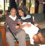 Ranu Nandi and niece, Rini