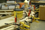 Reverse angle of weights and clamps