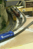 I like the way the ballast cars snake into East Yard