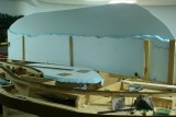 From Meshoppen side, view of styrene blue painted sky