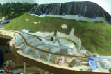 Meshoppen embankment, ready for plaster
