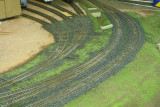 Ballasting and scenic materials make a huge difference.