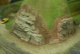 Close up of blended rocks