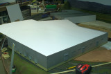 Plant Roof Styrene--making removable panels