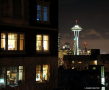 life in Queen Anne and Space Needle