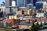 Gradual rise of buildings in Seattle