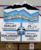 Welcomed to  Iqaluit