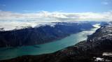 Entrance to Sondrestrom Fjord Greenland
