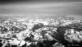 land of glaciers and mountains Greenland