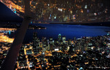 Wing over Seattle Skyline