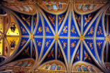 Basilica of Sacred Heart ceiling, University of Notre Dame