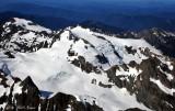 Hoh glacier Blue Glacier White Glacier on Mount Olympus