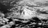 Aerial Mt Adams