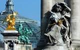 Sculptor and gilt-bronze statue of Fames