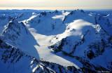 Mt Olympus and blue glacier
