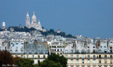 Sacre Coeur from Musee d'Orsay