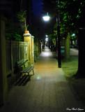 sidewalk along Corso Roma Levanto