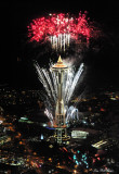Space Needle New Year 2012