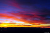 Sunset over Eastern Nevada
