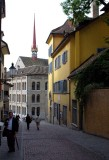 walking around Zurich