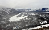 Final approach Valdez Airport, Alaska