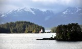 Rockwell Lighthouse, Sitka, Southeast Alaska
