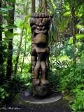Tiki at Hawaii Tropical Botanical Garden, Hawaii