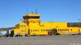 Iqaluit Airport Terminal, Nunavut Territory,Baffin Island, Canada