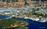 Downtown Kodiak and Marina, Near Island, Kodiak Island, Alaska