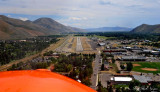 landing Sun Valley airport, Runway 13, Hailey, Idaho