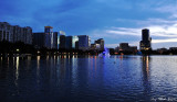 Downtown Orlando, Lake Eola, Orlando, Florida
