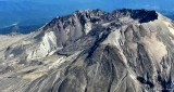 Lava dome, crater of Mt St Helens, Washington