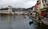 Luzern and Reuss River