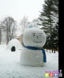 Snowman @Prince hotel