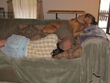 Paisley naping w/ Velma