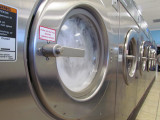 at the clothes wash!