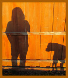 Shadows - me and my boy