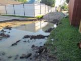 Alley work - Flooded
