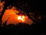 Sun Setting - waiting for rain