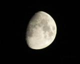 Moon looking cool tonight