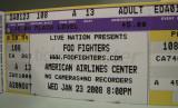 Foo Fighters Rock! 23 Jan. 2008