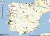 From Lisbon airport to Santarem, Portugal