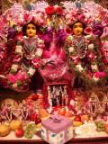 Janmastami 2011 Gaura Nitai with gift Made by Lila Katha