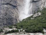Yosemite Falls area closer in,  w/ SX10. #2310