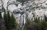 Area above LOWER Yosemite Falls.#3757cr