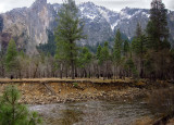 Merced River, from moving shuttle, Day 2, S95.  #3554