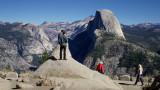 Glacier Point view from videoclip.  Flip Mino HD
