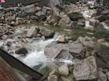 Immediate flow  from Lower Falls, March.  SX.  #2291