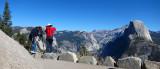 Glacier Point and Half Dome.  #2817