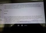 Web Gmail text - Eyeglasses + Full-Screen icons at bottom right